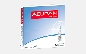 Biocodex gestion de la douleur acupan